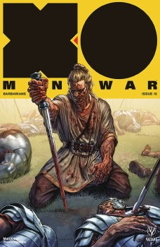 X-O Manowar (2017) (New Arc) #15 Cvr A Larosa
