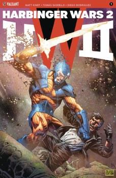 Harbinger Wars 2 #1 (of 4) Cvr G Pre-Order Bundle Ed