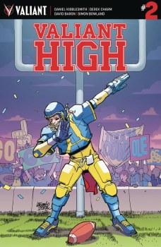 Valiant High #2 (of 4) Cvr A Lafuente