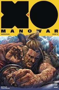X-O Manowar (2017) #16 Cvr A Larosa