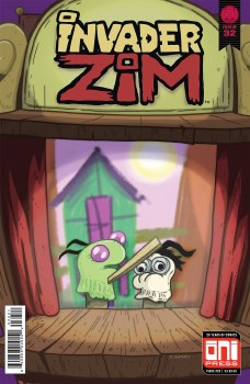 Invader Zim #32 Cvr B Green Var