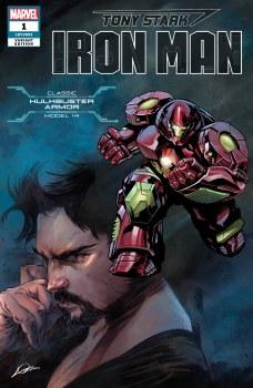 Tony Stark Iron Man #1 Hulkbuster Armor Var