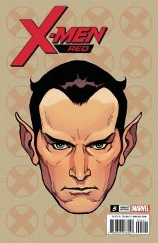 X-Men Red #5 Charest Headshot Var