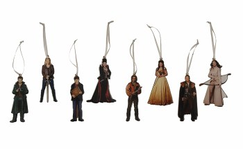Once Upon a Time 8pc Ornament Set