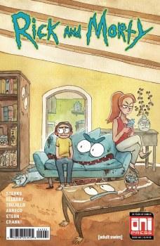 Rick & Morty #40 Cvr B Riess Var
