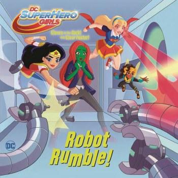 DC Super Hero Girls Robot Rumble Yr Pictureback
