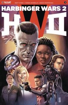 Harbinger Wars 2 #3 (of 4) Cvr A Jones