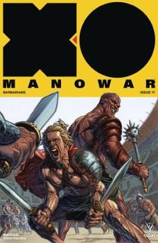 X-O Manowar (2017) #17 Cvr A Larosa