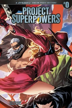Project Superpowers #0 Cvr C 1:20 Incentive Variant