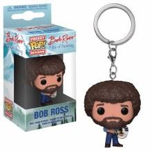 Pocket Pop Bob Ross Fig Keychain
