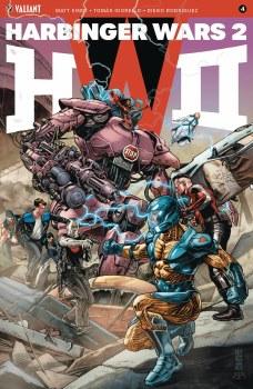 Harbinger Wars 2 #4 (of 4) Cvr A Jones