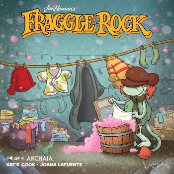 Jim Henson Fraggle Rock #4 Main
