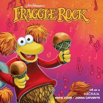 Jim Henson Fraggle Rock #4 Red Var Myler Cvr