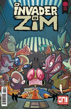 Invader Zim #34 Cvr A