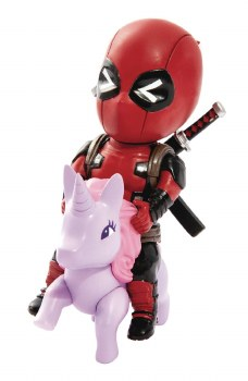 Marvel Comics Mea-004 Deadpool Pony Px Fig