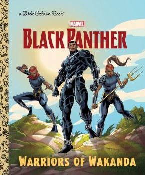 Black Panther Warriors of Wakanda Little Golden Book
