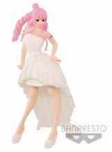 One Piece Lady Edge Wedding Perhona White Dress Fig