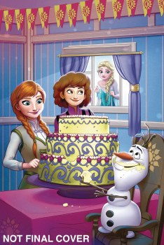 Disney Frozen Breaking Boundaries #2 Cvr B Francisco