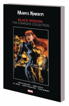 Marvel Knights Black Widow By Grayson & Rucka TP (Mr)