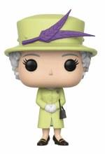 Pop Royals Queen Elizabeth II Green Dress Vinyl Figure