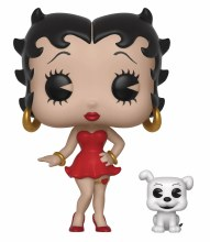 Pop & Buddy Betty Boop Betty With Pudgy Vinyl Figure