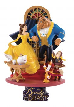 Beauty & the Beast Ds-011 Dream-Select Ser Px 6in Statue