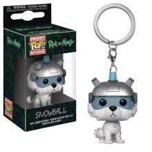 Pocket Pop R&M Snowball Fig Keychain