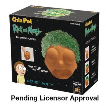 Chia Pet Rick & Morty Morty (C