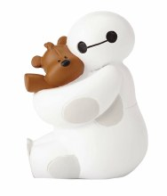 Dssho Big Hero 6 Baymax With Teddy Bear Figure