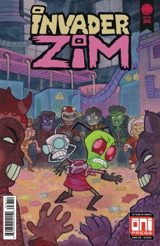 Invader Zim #36 Cvr A