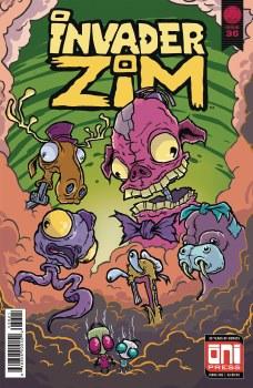 Invader Zim #36 Cvr B Sornig Var