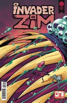 Invader Zim #37 Cvr B Stresing Var