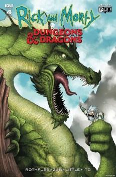 Rick & Morty Vs Dungeons & Dragons #4 (of 4) 1:10 Incentive Var