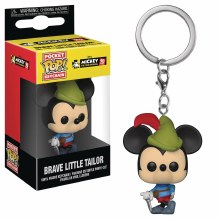 Pocket Pop Mickey 90th Brave Little Tailor Fig Keychain