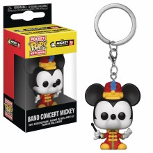 Pocket Pop Mickey 90th Band Concert Mickey Fig Keychain