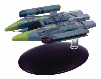 Star Trek Starships Fig Mag #139 Vaaduar Fighter