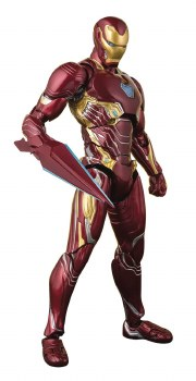 Avengers Infinity War Iron Man Mk50 S.h.figuarts Action Figure Nano Ver