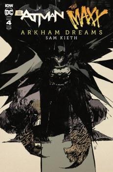 Batman the Maxx Arkham Dreams #4 (of 5) Wood 10 Copy Var