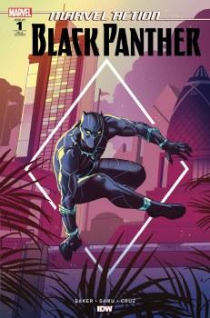 Marvel Action Black Panther #1 10 Copy Baker Var