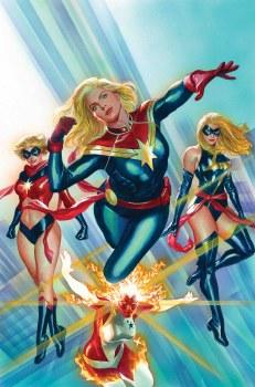 Captain Marvel #1 By Alex Ross