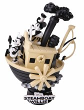 Steamboat Willie Ds-017 D-Stage Series Px 6in Statue