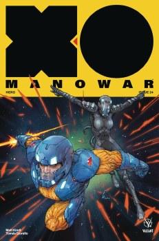 X-O Manowar (2017) #24 Cvr A Rocafort