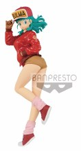 Dragon Ball Glitter & Glamour Bulma II Figure