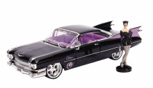 DC Bombshells 56 Cadillac w/ Catwoman 1/24 Scale Vehicle