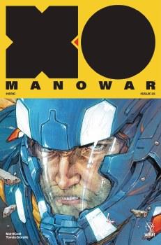 X-O Manowar (2017) #25 Cvr A Rocafort