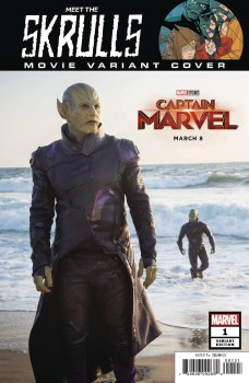 Meet the Skrulls #1 (of 5) Movie Var