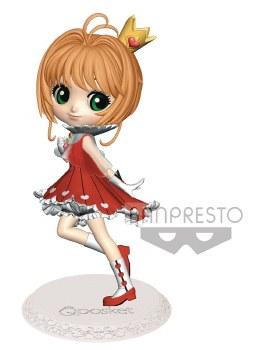 Cardcaptor Sakura Clear Card Sakura Q-Posket Kinomoto Figure