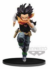 DBZ Banpresto World Colosseum V3 Android 17 Figure