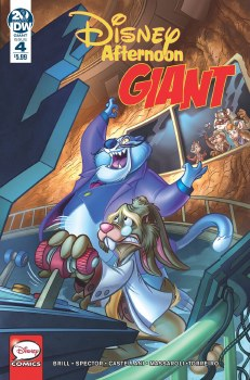 Disney Afternoon Giant #4 (C: