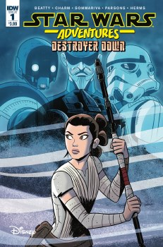 Star Wars Adventures TP Destroyer Down